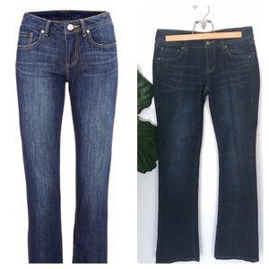CAbi Bootcut Jeans Dark Wash Denim Style #967R